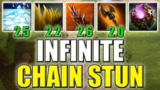 1. Stun 2. Stun 3. Stun 4. Stun [Infinite Chain Stun Combo with Octarine Core] Dota 2 Ability Draft