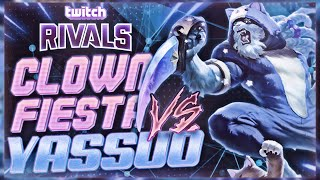 CLOWN FIESTA VS YASSUO'S TEAM! (Twitch Rivals Day 2 Highlights)