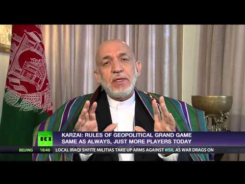 Kabul cabal? Ft Hamid Karzai, frmr president of Afghanistan