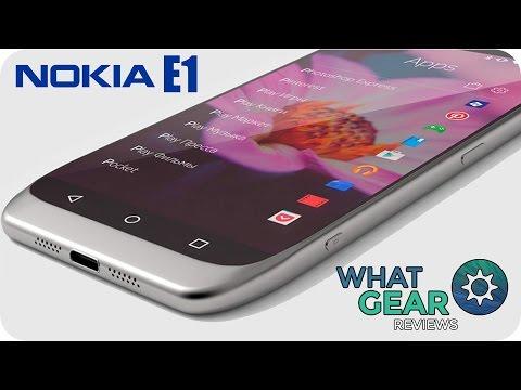 Nokia E1 - Smartphone Leaks & Rumours