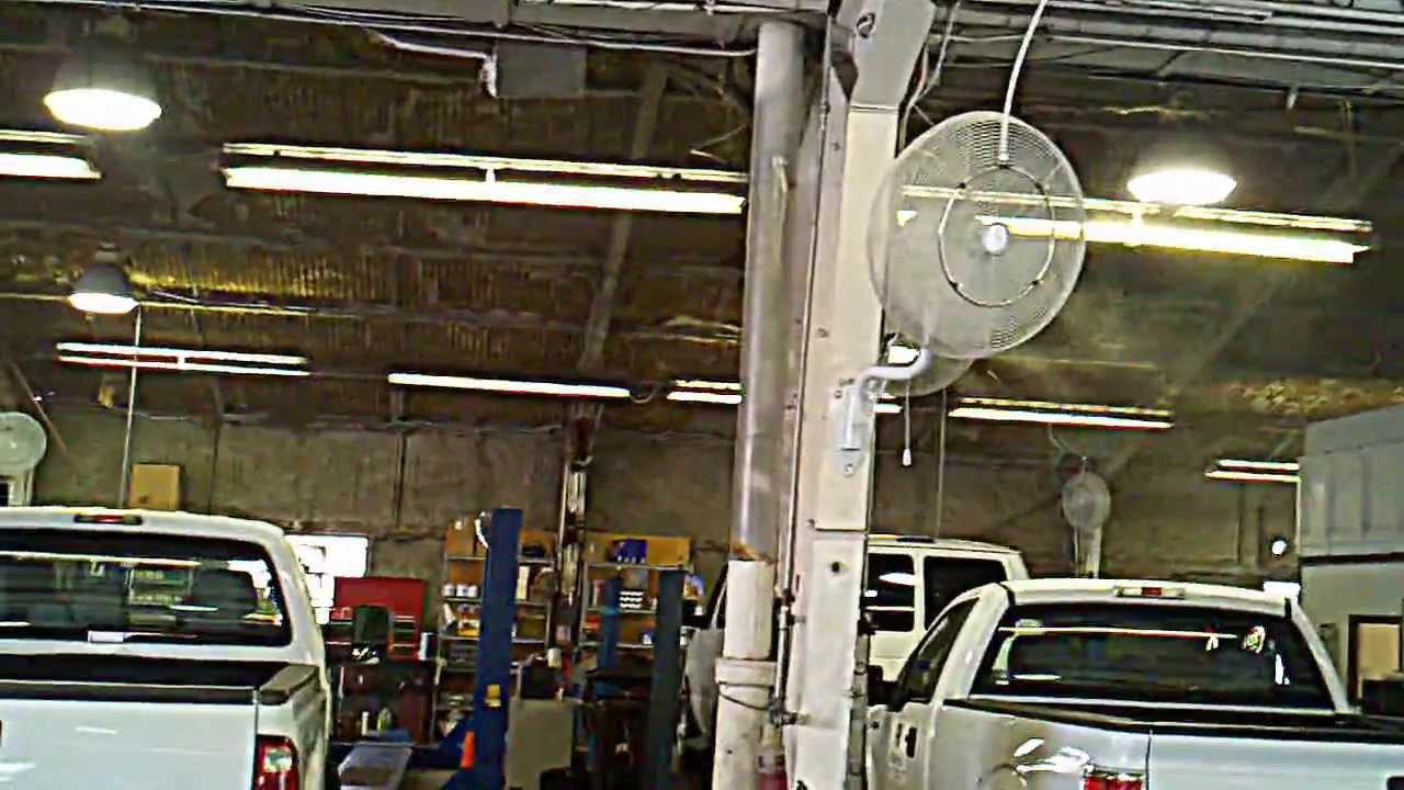 Warehouse Misting Fans Warehouse Stainless Steel Mist
