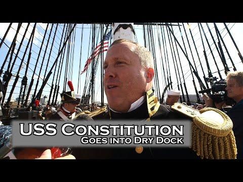 USS Constitution Goes Underway before dry dock , Dropkick Murphys Perform