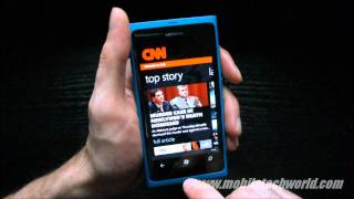 Official CNN App for Windows Phone On the Nokia Lumia 800