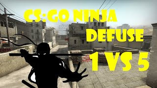 CS:GO - Ninja Defuse 1vs5