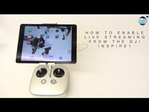 HPIGUY | How To Live Stream From The DJI Inspire 1 - Phantom 3