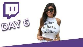 Mia Khalifa TWITCH HIGHLIGHTS - Day 6