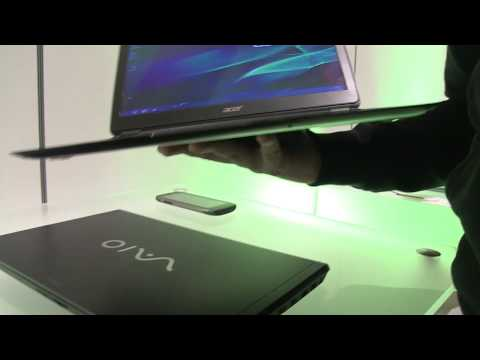 Acer Aspire S5 Hands On (CES Las Vegas 2012)