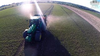 Fertiliser Spreading in March 2015