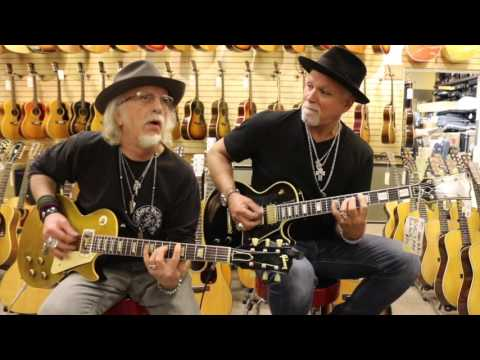 Brad Whitford and Derek St. Holmes playing Gibson Les Pauls