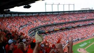 Delmon Young's 3-RBI Double - Game 2 ALDS 10-3-14 Orioles Magic!!!