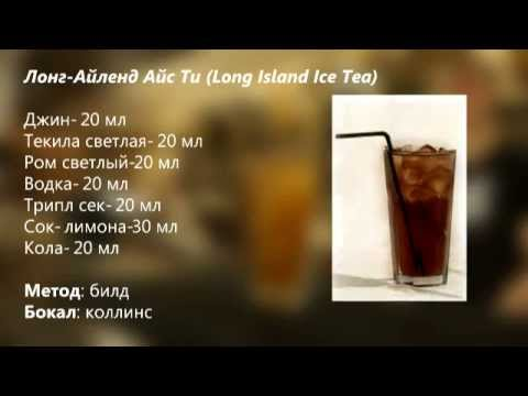 Коктейль Лонг Айленд Айс Ти (Long Island Ice Tea) рецепт от cbar-project