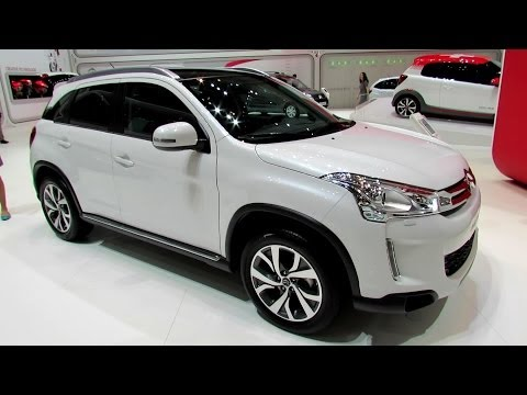 2014 Citroen C4 Aircross - Exterior and Interior Walkaround - 2014 Geneva Motor Show