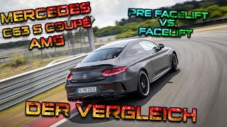 Der Ultimative C63 AMG 2018 Vergleich / Coupe VS Limo MOPF Facelift | SimonMotorSport |