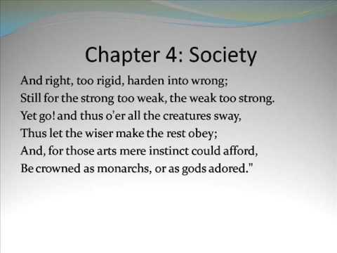 An Essay On Man by Alexander Pope Chapter 4