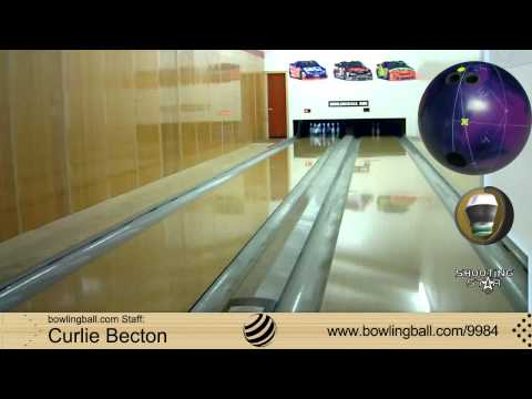 Roto Grip Shooting Star Bowling Ball Reaction Video by bowlingball.com