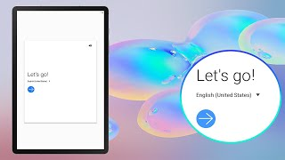 01. HOW TO SET UP SAMSUNG GALAXY TAB S6??? [STEP BY STEP GUIDE]