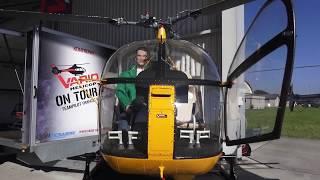 Aérospatiale SA-315B LAMA SCALE TURBINE MODEL HELICOPTER VERY DETAILED