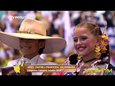 FINAL INFANTES 2014 ( HD ) - 54 CONCURSO NACIONAL DE MARINERA 2014