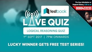 Logical Reasoning Quiz Free Test Friday TestbookLIVE