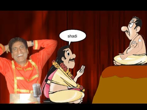 Raju Srivastav Comedy Show - Husband's Life After Marriage! video