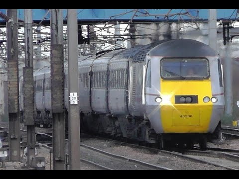 East Coast Trains Pre Privatisation - A Compilation of Video Clips From The ECML