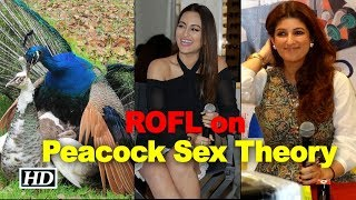 Twinkle-Sonakshi go ROFL on the 'Peacock Sex Theory'