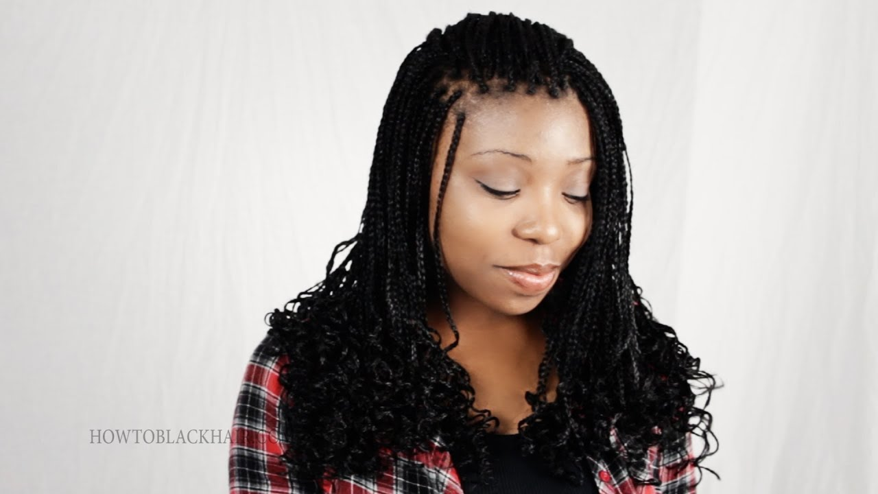 Zillion Micro Braids Finished Results Protective Style For