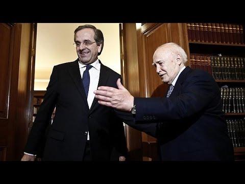 سماراس يؤكد أن بقاء اليونان ضمن الإتحاد الأوروبي سيحدد بنتائج الإنتخابات المبكرة