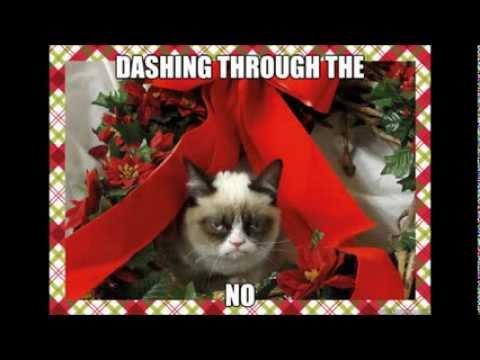 grumpy cat christmas desktop background
