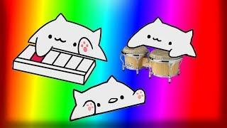 Bongo Cat plays Dance Till you're dead