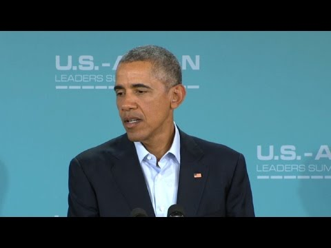 Obama speaks after Southeast Asian leader conference