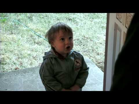 Cute Kid - Door to Door Salesman - Funny outtakes after the credits