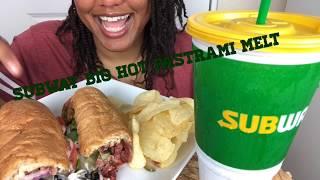 Big Pastrami Melt   Subway