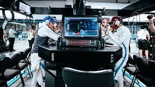 What Happens at the Engineering Station in an F1 Garage?
