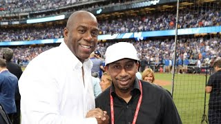 "Stephen A. Smith DECLARES  WAR On Magic Johnson! ""He's NOWHERE NEAR Steph Curry!"""