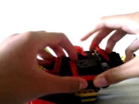 LTFS : lego Transformers DEVASTATOR  Review!!!