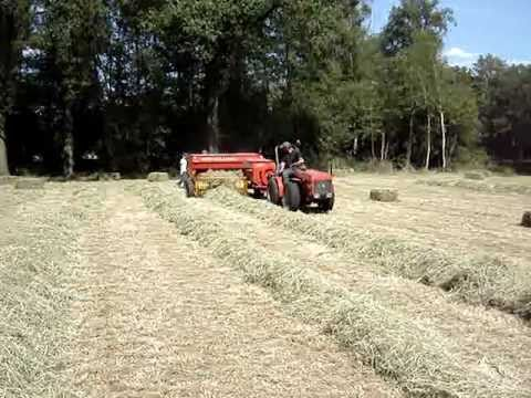 new holland 270 small square baler and antonio carraro 5600