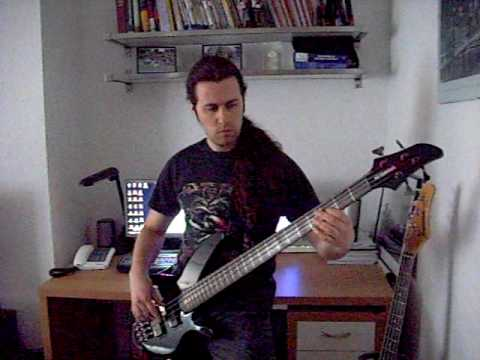 The loneliness of the long distance runner. Bass cover.