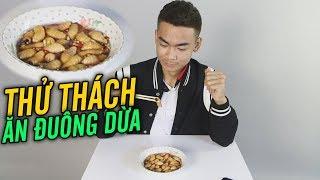 Quang Cuốn Thử Thách Lần Đầu Ăn 20 Con Đuông Dừa