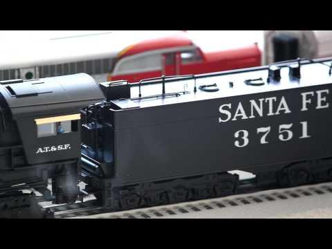 Lionel Legacy 6-11332 Santa Fe 4-8-4 Northern #3751  V2