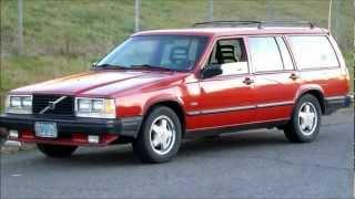 My wonderful Mother's Turbo Volvo 740 Sportwagon