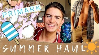 PRIMARK & BOOHOO HAUL & TRY ON | MENS SUMMER FASHION 2019