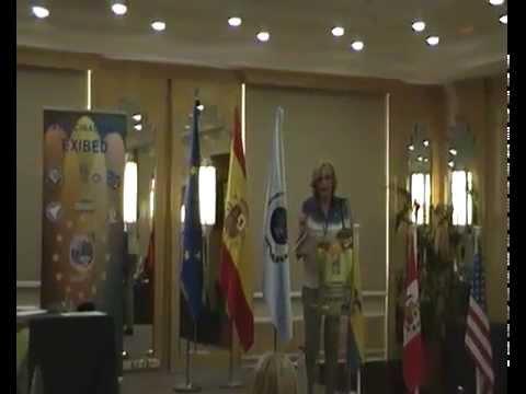 Ponencia magistral Alicia Sposetti en la Cumbre EXIBED