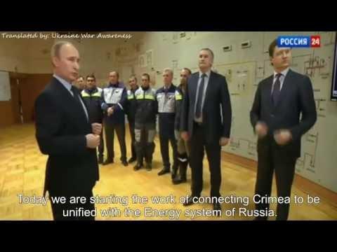 [Eng] Tatars reactions to Russia's Energy-Bridge to Crimea! Kerch gets electricity - энергомост Крым
