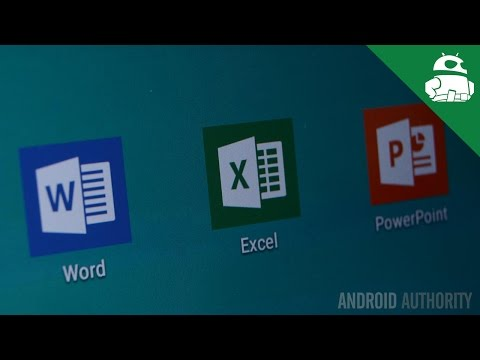Microsoft Office for Android tablets quick look