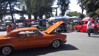 Ontario California Route 66 Car show SAT 09/20/2014 1969 Ford Cobra Jet red