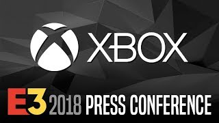Microsoft XBOX Press Conference @ E3 2018 【Live Stream】