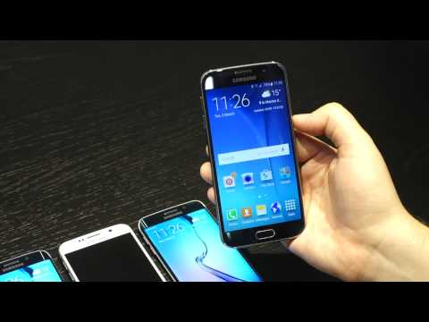Hands on with the Samsung Galaxy S6 and S6 Edge at MWC 2015