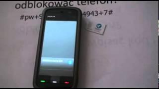 Simlock Nokia 5230 Xpress Music jak wpisać kod - Odblokowanie simlocka