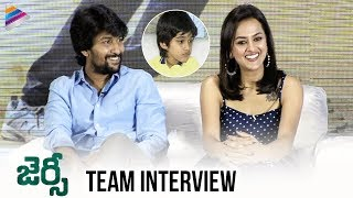 Jersey Movie Team Interview | Nani | Shraddha Srinath | Anirudh Ravichander | Telugu FilmNagar